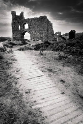 Pennard Castle, Gower, South Wales